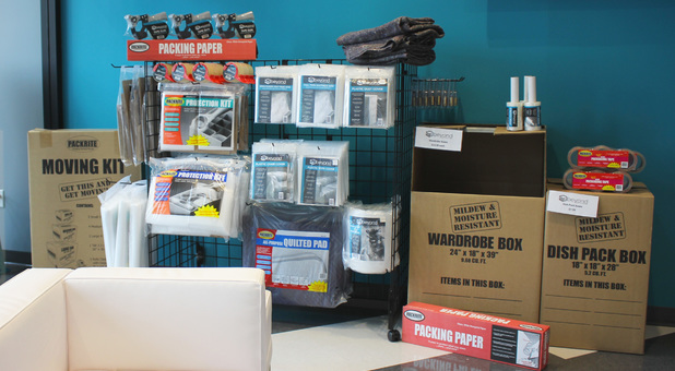 Moving Supplies at Beyond Self Storage at Maplewood