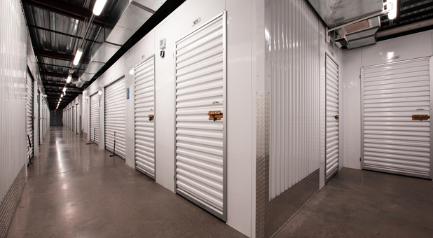 Storage Lockers at Beyond Self Storage at Ross