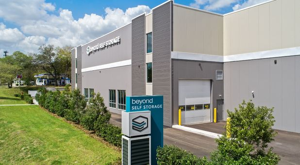 Beyond Self Storage at Temple Terrace Signage