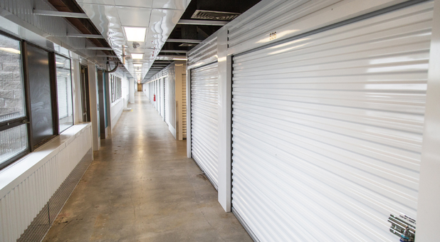 Indoor Storage Units at Beyond Self Storage at Lenexa