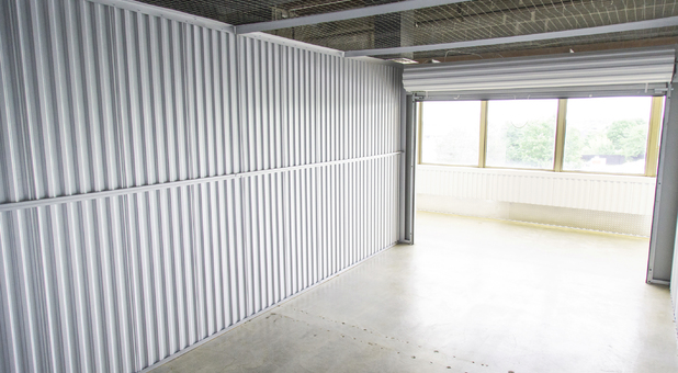 Drive-Up Storage Units at Beyond Self Storage at Lenexa