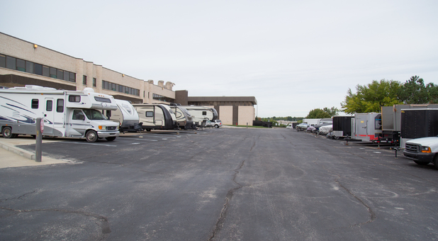 Vehicle Storage at Beyond Self Storage at Lenexa