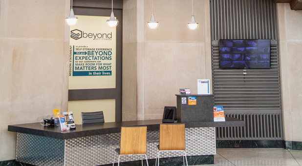 Beyond Self Storage at Lenexa Lobby
