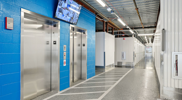 Beyond Self Storage at Arlington Heights Elevator Access