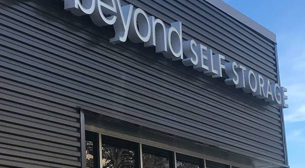 Beyond Self Storage at Mt Lebanon Signage