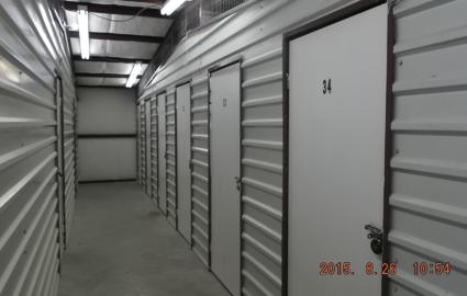 Inside storage