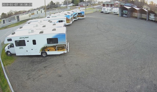 RV, Boat, Bus, Vehicle Storage Lot