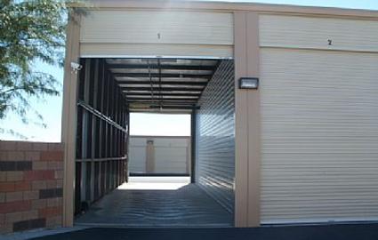 Wide storage units