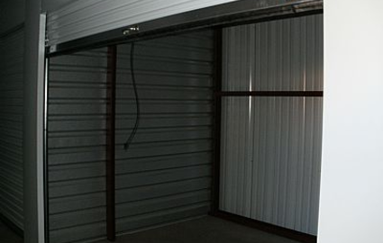 Clean self storage facility