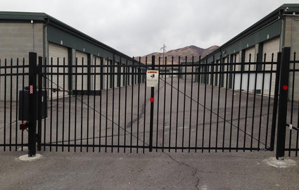 Safe and secure self storage facility