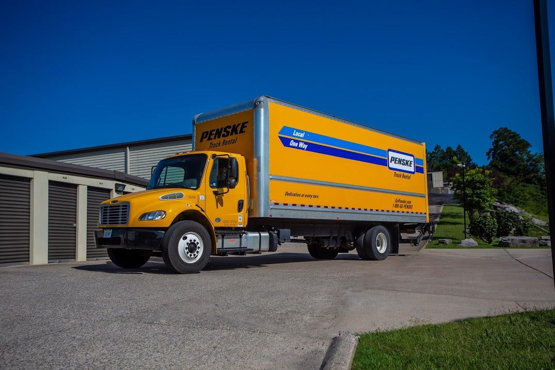 penske moving truck rental
