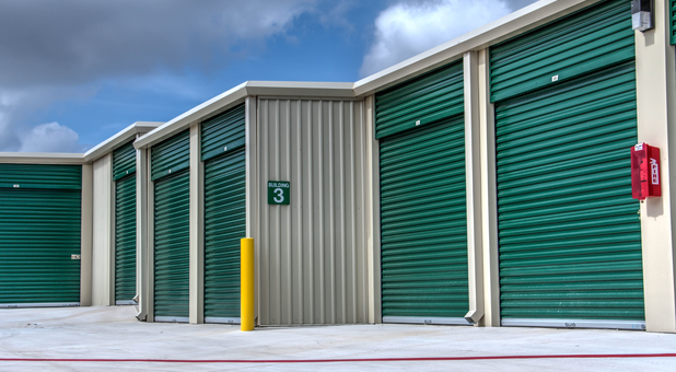 storage facility off military