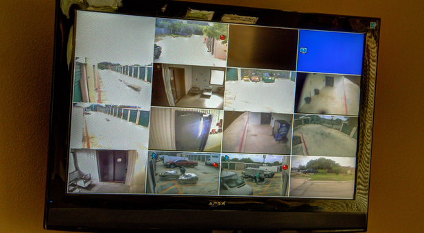 Security Cameras Storage Facility