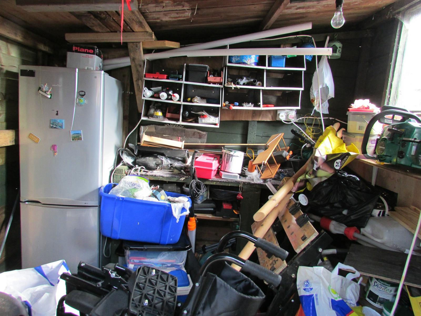 If you're not careful, temporary storage at home can become permanent. Move your things into a storage unit and reclaim your space!