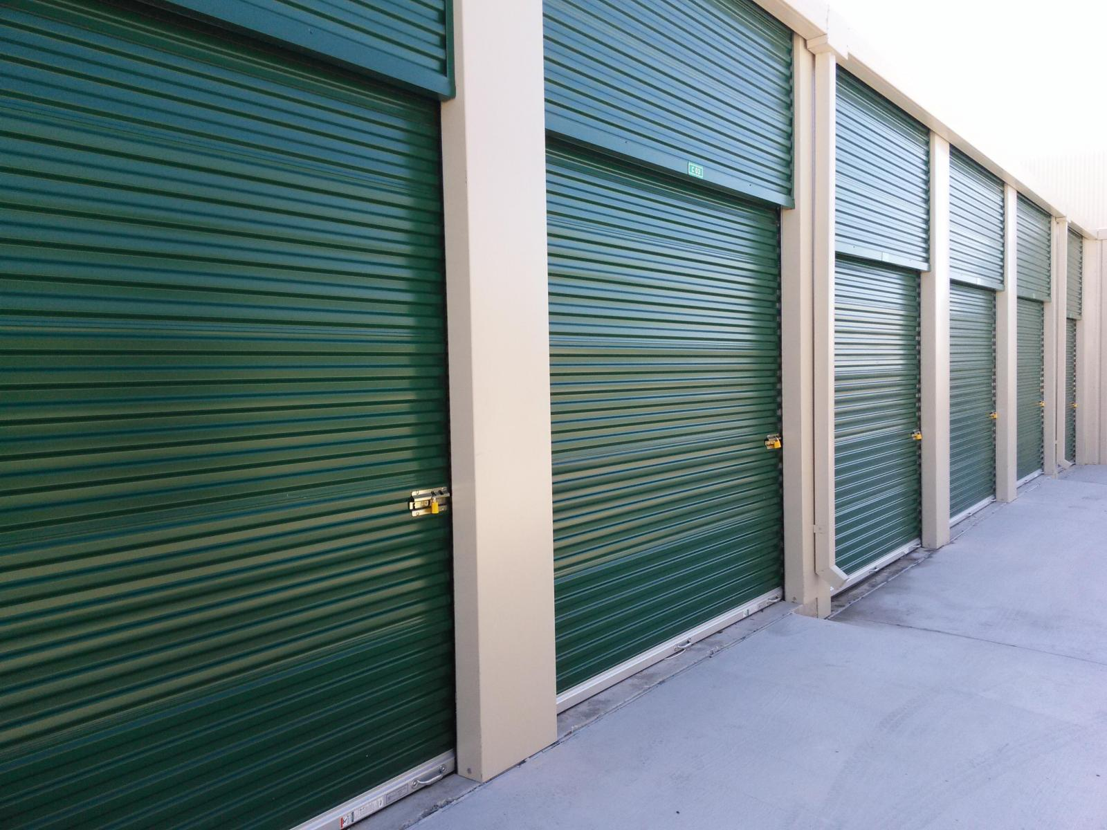Drive up access is valuable for many commercial storage unit renters.