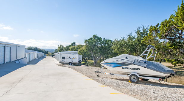 boat and car parking in boerne