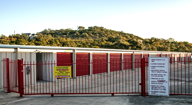 Gated facility to protect your items