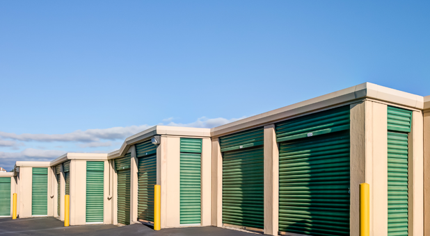 commercial sized storage units