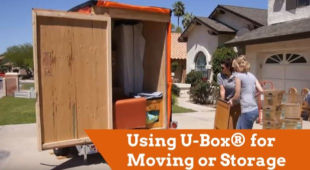 UBox for Moving and Storage