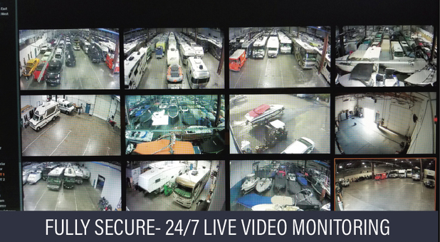 Secure Live Video Monitoring