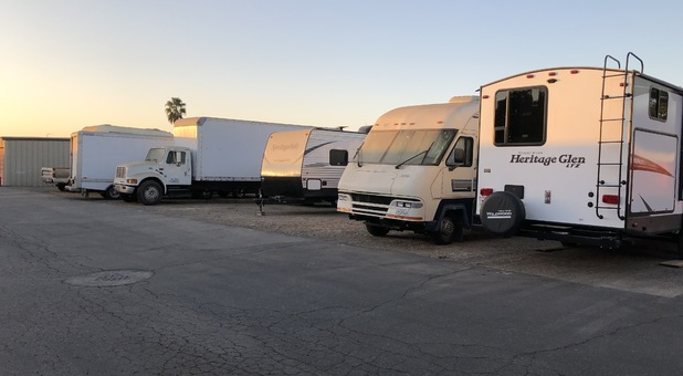 RV Boat Trailer Storage