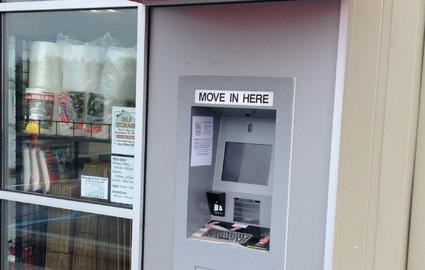 Kiosk with Awning