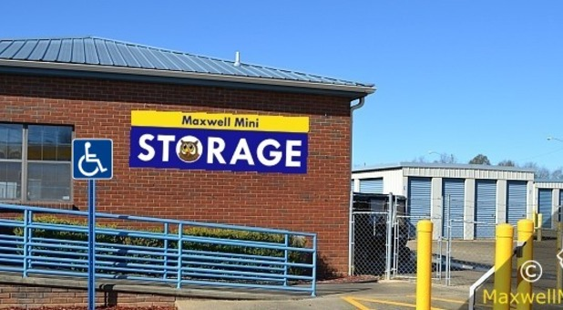 Self Storage Office · Climate Controlled Storage Units & Storage Units in Montgomery AL 36108 | Maxwell Mini Storage