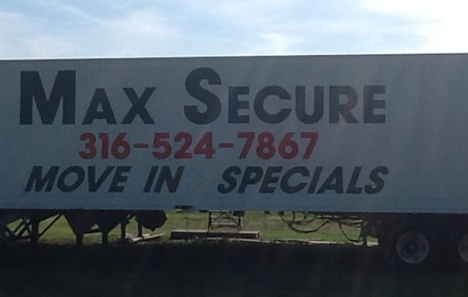 Max Secure storage in Wichita