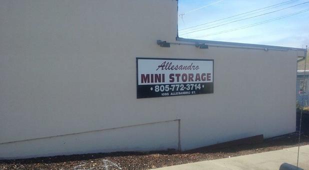 Allesandro Mini Storage. 1095 Allesandro St. Morro Bay ...