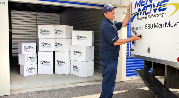 Farmingdale Self Storage Unload