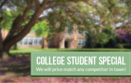 College Student Special on Storage