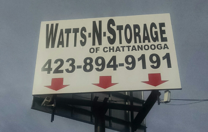Affordable Self Storage Units In Chattanooga Tn Watts N