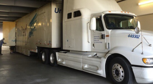 Semi-Truck Access for Large Deliveries or Shipments