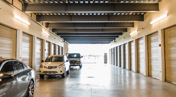 Drive-up Non-climate Controlled Garage Units to Store Vehicles and Boats