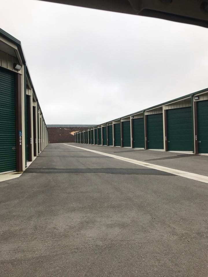 Large, Enclosed RV Storage Units at Monarch Mega Storage