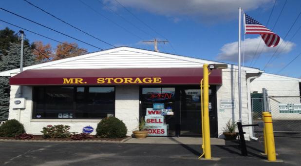 Mr Storage Store Front
