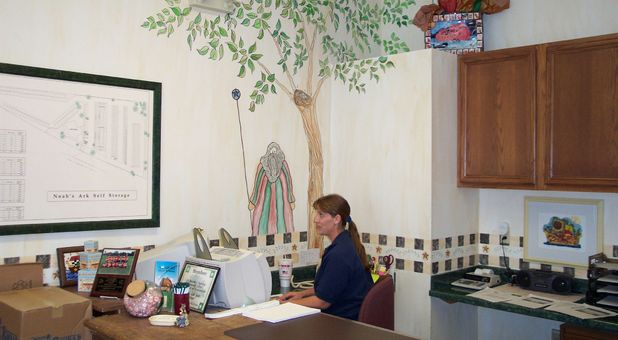 Office in Self Storage Facility - Noah's Ark