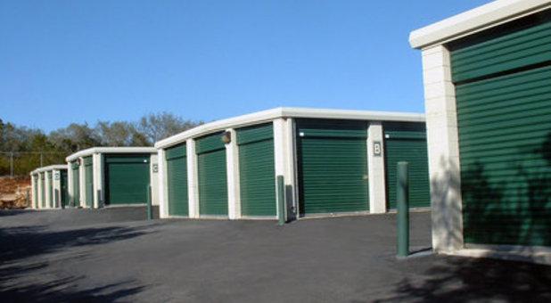 Outside Storage Units by Noah's Ark