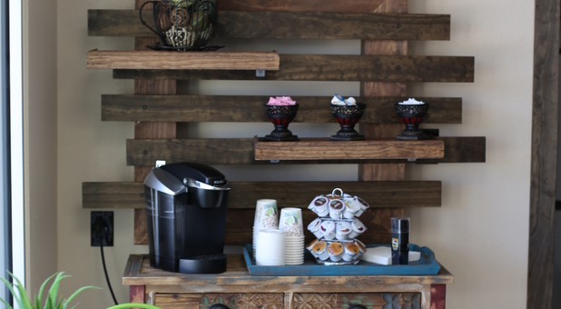 Coffee Bar in Self Storage Facility by Noah's Ark Self Storage
