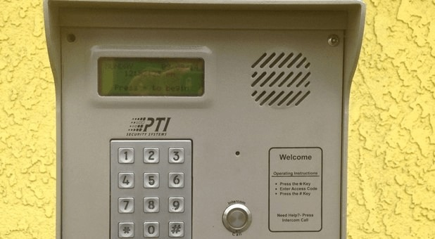 Secure keypad entry only