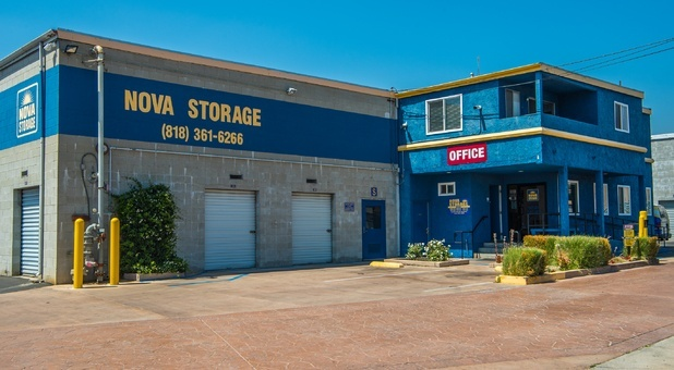 Nova Storage located on Foothill Boulevard