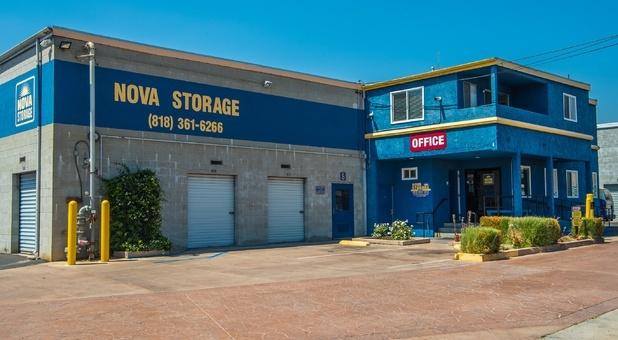 Nova Storage located on Foothill Boulevard
