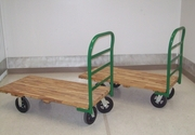 Dollies and handcarts are available to customers