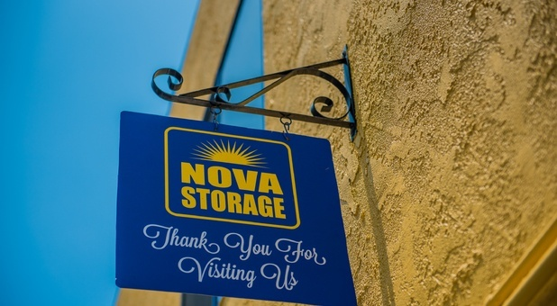 Nova Storage Sign- Downey