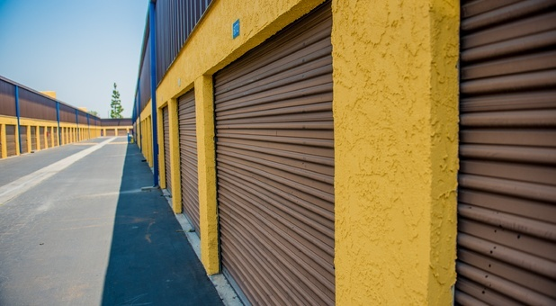 Nova Self Storage Side Exterior- Downey