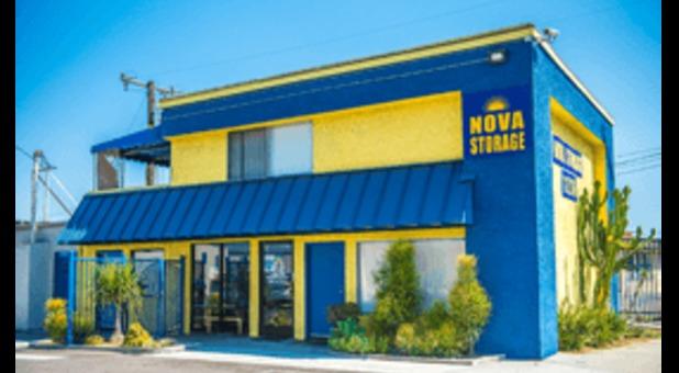 Outside Nova Self Storage Lynwood