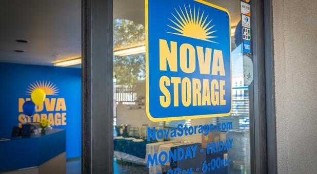 Front Window Nova Self Storage - Palmdale
