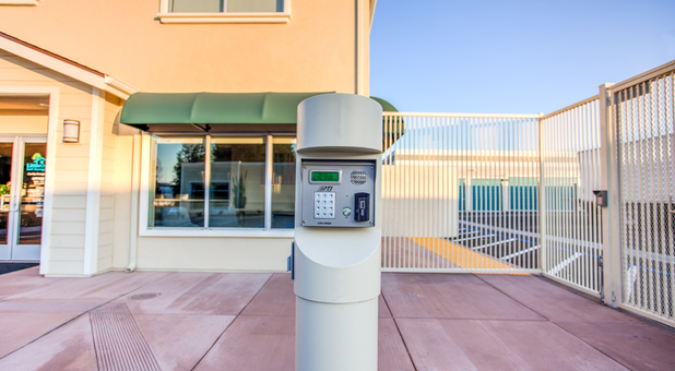 Secure San Jose Self Storage with Gate with Key Pad