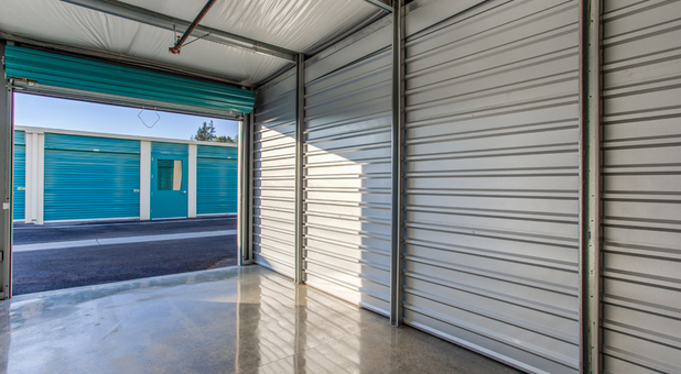 Interior Self Storage Units at Little Orchard Self Storage in San Jose, CA