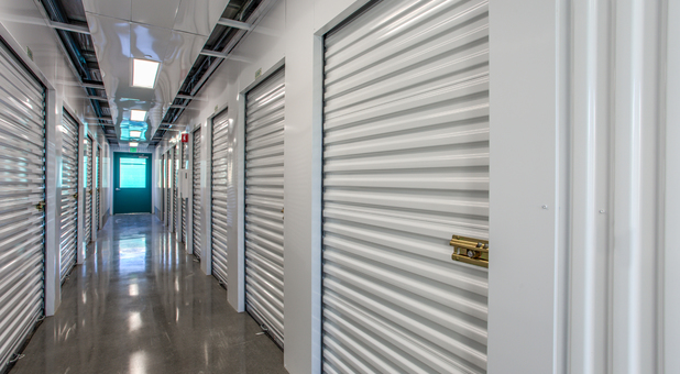 Secure Interior San Jose Storage Units at Little Orchard Self Storage
